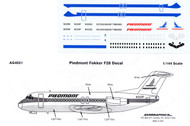 1/144 Scale Decal Piedmont F-28