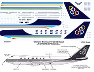 1/200 Scale Decal Olympic 747-200