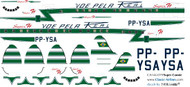1/144 Scale Decal REAL Super Constellation