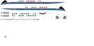 1/144 Scale Decal Air Inter Viscount 700