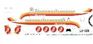 1/144 Scale Decal Austral BAC-111 Red
