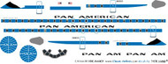 1/144 Scale Decal Pan American DC8-63CF