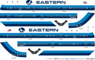 1/144 Scale Decal Eastern 747-200