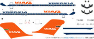 1/144 Scale Decal Viasa DC9-30