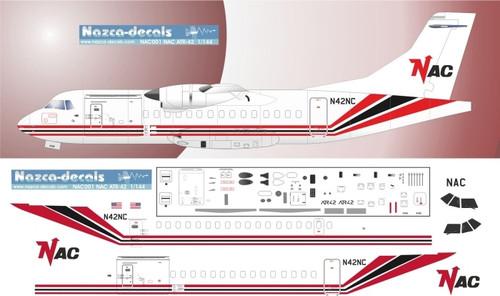 1/144 Scale Decal NAC ATR-42
