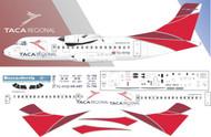 1/144 Scale Decal TACA Regional ATR-42