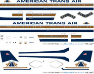 1/144 Scale Decal ATA - American Trans Air L-1011