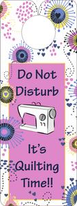 FQG309 Knobie Talk Door Hanger-Do Not Disturb