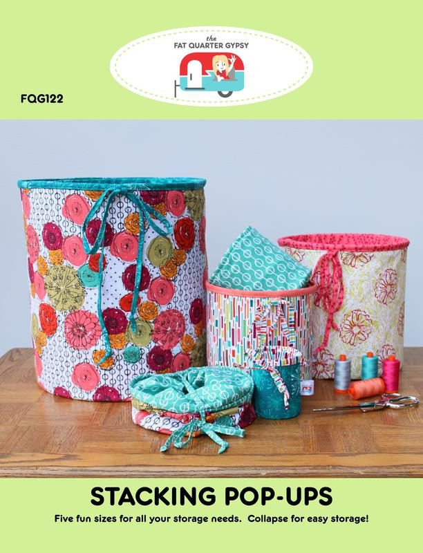 Windsock Pop Up Sewing Pattern Kit by Fat Quarter Gypsy