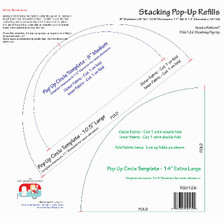 FQG126 Stacking Pop-Up Refills (M, L & XL)
