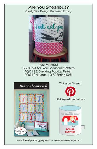 Are You Shearious? Pop Up Info Sheet