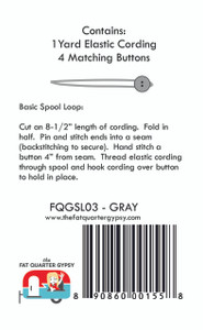 FQGSL03 Spool Loops - Gray