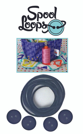 FQGSL04 Spool Loops - Navy