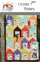 FQG102pdf Doggie Town Quilt Pattern