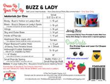 FQGDU202 Buzz and Lady - A Pop-Up Kit