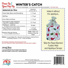 FQGDU206 Winter's Catch Pop-Up Kit