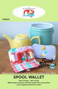 FQG134 Spool Wallet Pattern