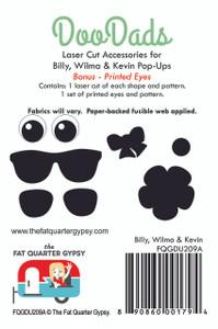 FQGDU209A Billy, Wilma & Kevin Doodads