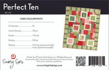 Perfect Ten Quilt Pattern