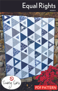 Equal Rights Quilt Pattern - PDF Printable