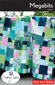 Megabits Quilt Pattern - PDF Printable