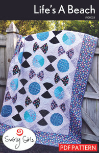 Life's A Beach Quilt Pattern - PDF Printable