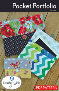 Pocket Portfolio Quilt Pattern - PDF Printable