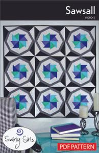 Sawsall Quilt Pattern - PDF Printable