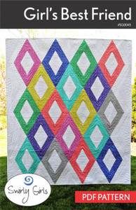 Girl's Best Friend Quilt Pattern - PDF Printable