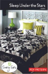 Sleep Under the Stars Quilt Pattern - PDF Printable
