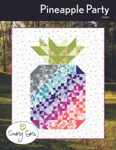 Pineapple Party Quilt Pattern - PDF Printable