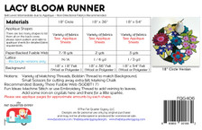 FQG406 Lacy Boom Runner pattern