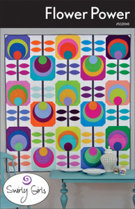 SGD040 Flower Power Quilt Pattern