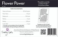 SGD040 Flower Power Quilt Pattern