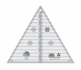 CGRT60 60 degree triangle ruler