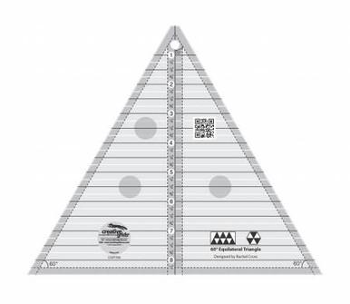 CGRT60 60 degree triangle ruler