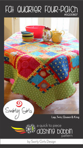 Fat Quarter Four-Patch Quilt Pattern