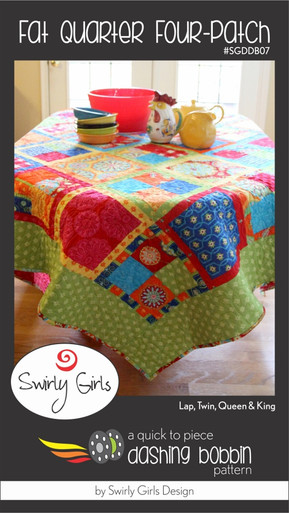 Fat Quarter Four-Patch Quilt Pattern
