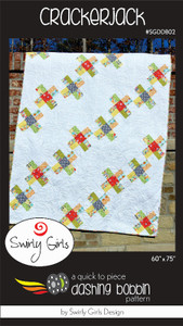 SGDDB02 Crackerjack Quilt Pattern