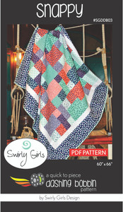 Snappy Quilt Pattern
