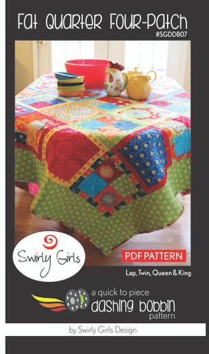 Fat Quarter Four-Patch Pattern