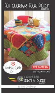 Fat Quarter Four-Patch Pattern