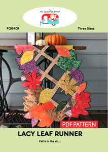 FQG401pdf Lacy Leaf Runner
