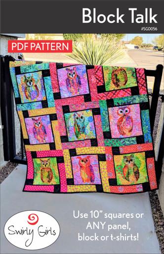 Block Talk Quilt Pattern