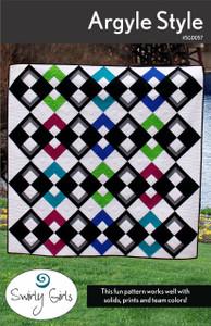 SGD057 Argyle Style Quilt Pattern
