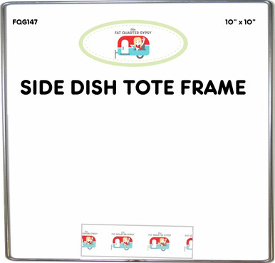 FQG147 Side Dish Tote Frame for Wire Framed Potluck Totes Pattern