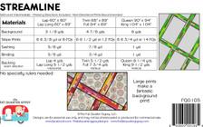 FQG105 Streamline Pattern