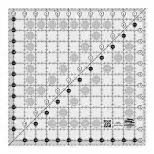 Creative Grids Quilt Ruler 12-1/2 in Square