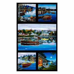 1 panel of Classic Boats by Elizabeth's Studio