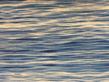 1 yard piece of Medium Blue Waves